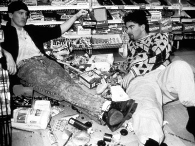 clerks film analysis One of the many charms of kevin smith's clerks is that it clocks a full  the  movie has the attitude of a gas station attendant who tells you to.